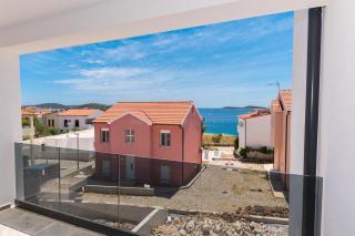 A new attractive apartment for sale near the beach in Rogoznica