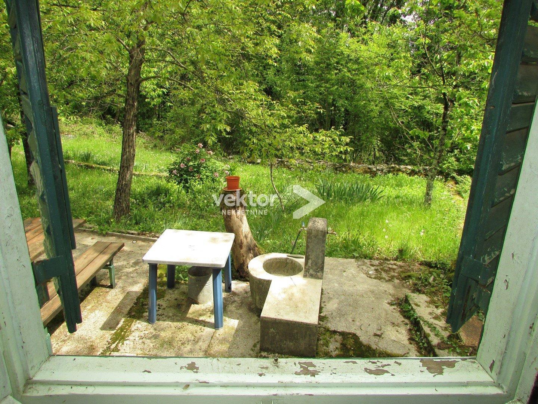 Građevinsko zemljište, Veprinac, 2124m2 sa vikendicom od 30m2