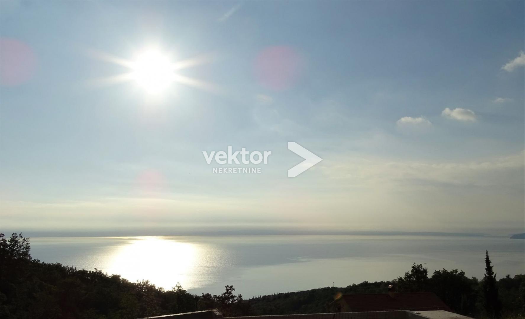 Zemljište Poljane, 1400 m2, odličan pogled na more