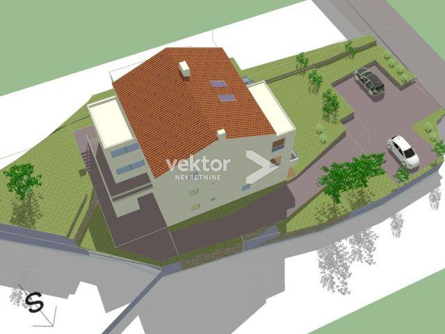 Stan, Rubeši, 189m2, novogradnja, stan s galerijom, pogled