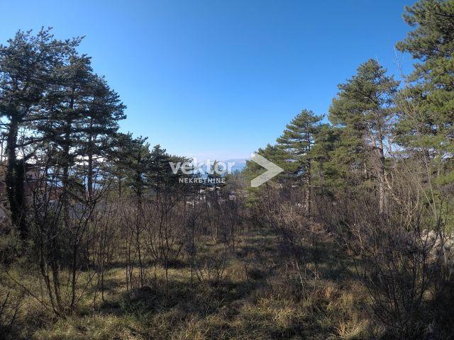 Građevinsko zemljište, Kostrena, 1027m2, pogled na more