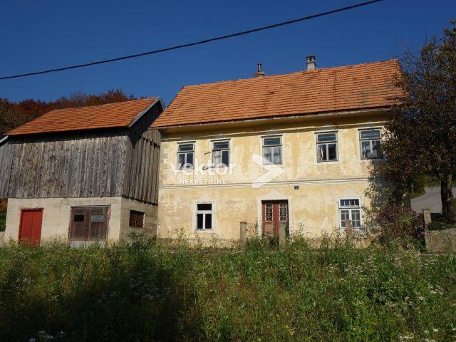 Kuća, Skrad, 63m2, za uređenje
