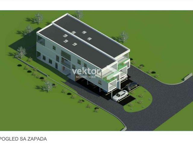 Stan, Krimeja, 52m2, 1-soban s dnevnim boravkom, novogradnja