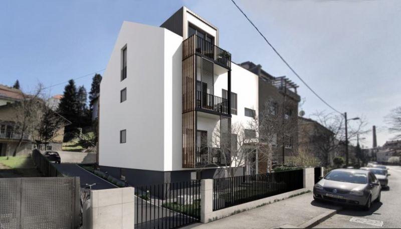 Zagreb, Projekt Kosirnikova, Trosoban stan, 1. kat 97,55 m2
