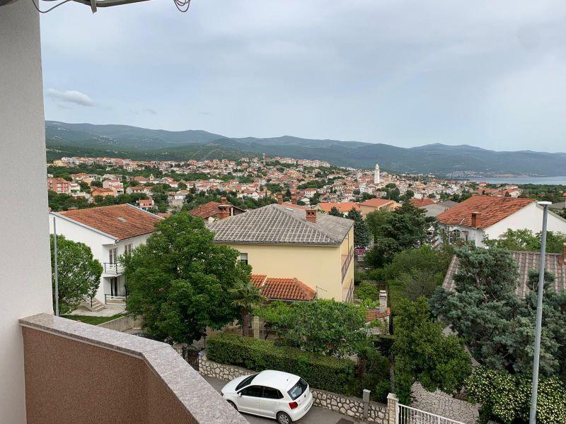 Novi Vinodolski, stan 89,12 m2, pogled na more