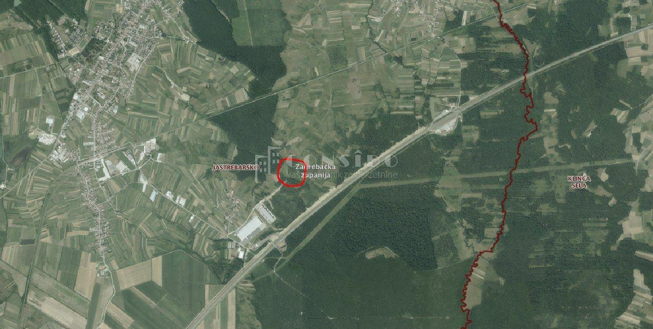 Zemljište, Jastrebarsko,31886 m2, u građevinsko-ind. zoni