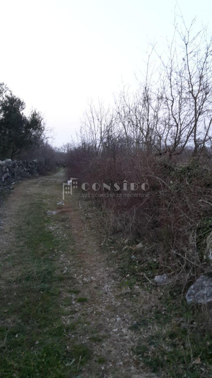 Land Milohnići, Krk, 1.043m2