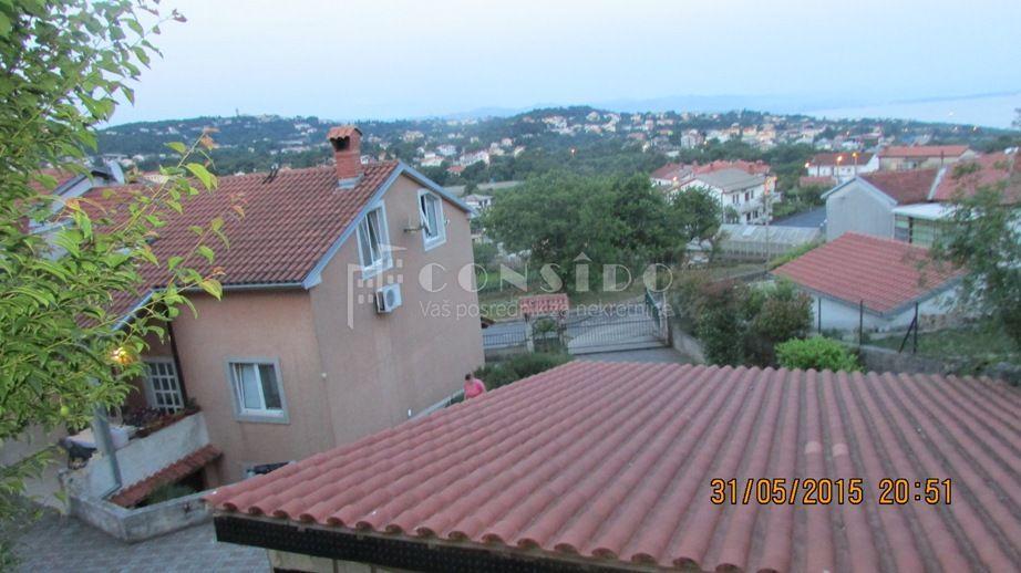 Matulji kuća dvojna 250m2+1300m2 okućnice -pogled na more