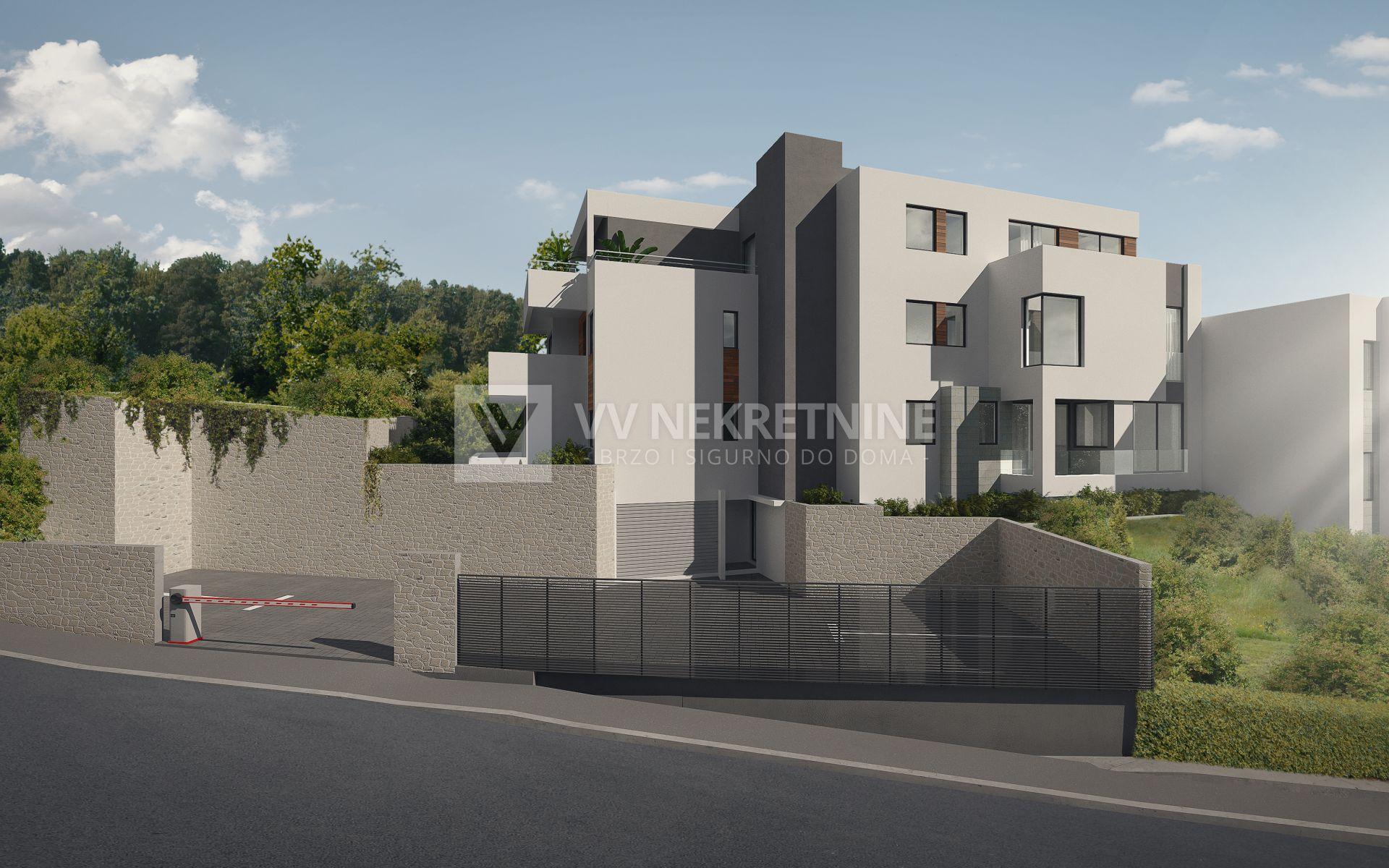 Marčeljeva Draga - luksuzna novogradnja - 86,20m2, 3S+DB stan na prvom katu